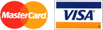Visa and Mastercard Logo